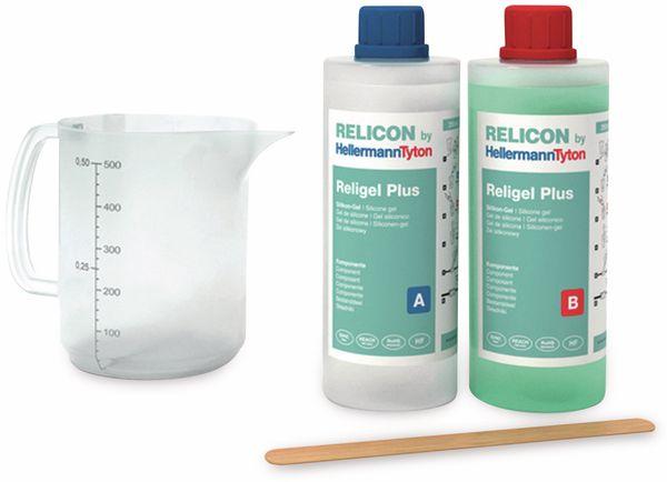 2-Komponenten-Silikongel, HellermannTyton, 435-00756, 500 ml