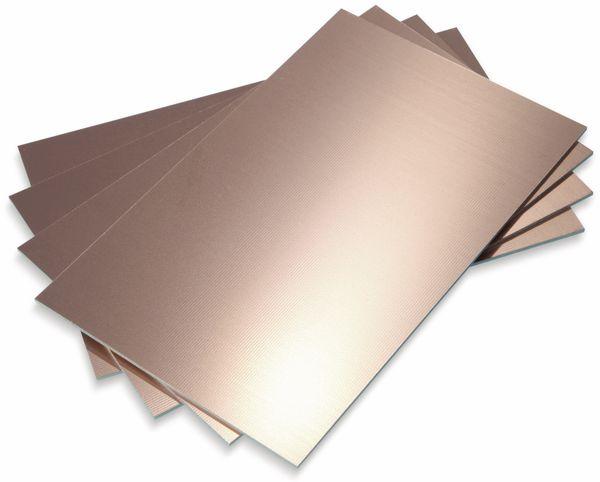 Fotobeschichtetes Leiterplattenmaterial, Bungard, FR4 100X160X1.5 35/00, 100 x 160, einseit.35/00