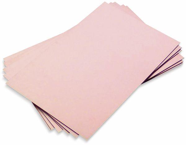 Leiterplatten Rohmaterial, Bungard, FR4 ROH 100X 160X1.5 35/00, 100 x 160, einseitig35/00