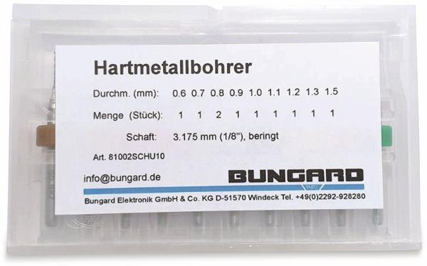 Bohrersatz für Leiterplatten, Bungard, gemischt, mit Ring, (0,6mm-1,5mm) - Produktbild 2