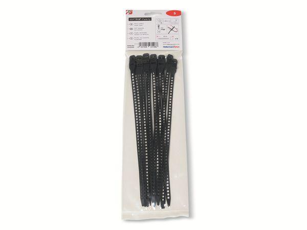 Kabelbinder lösbar, HellermannTyton, 115-07270, Softfix®, S, 260x7, 12 Stück