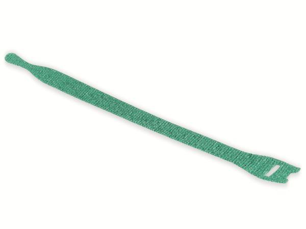 Kabelbinder lösbar, HellermannTyton, 130-00017, 200x12, grün, 10 Stück