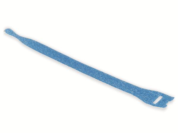 Kabelbinder lösbar, HellermannTyton, 130-00018, 200x12, blau, 10 Stück