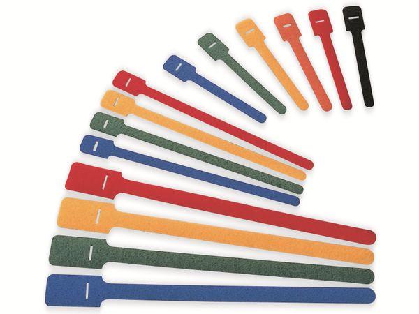 Kabelbinder lösbar, HellermannTyton, 130-00018, 200x12, blau, 10 Stück - Produktbild 2