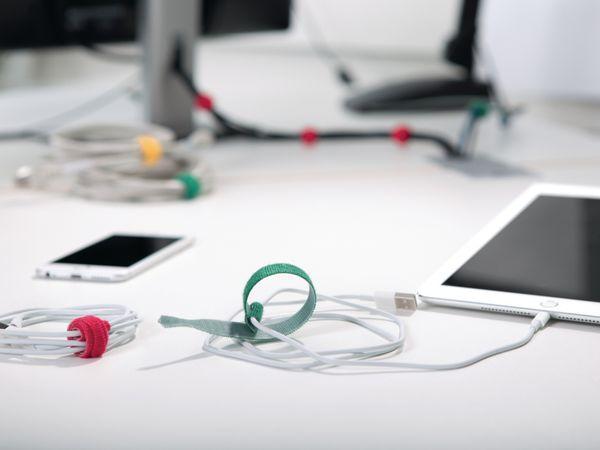Kabelbinder lösbar, HellermannTyton, 130-00021, 200x12, weiß, 10 Stück - Produktbild 5