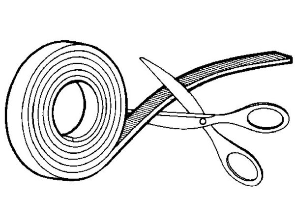 Klett-Kabelbinder lösbar, HellermannTyton, 130-00022, schwarz, 25 Meter - Produktbild 7