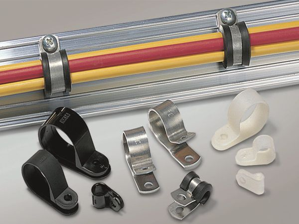 Kabelschelle, HellermannTyton, Snapper, Abdeckung, 211-10130, Alu13, natur,Aluminium, 1 Stück