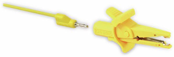 Krokodilklemme mit 4 mm Labor-Sicherheitsbuchsen - Produktbild 2