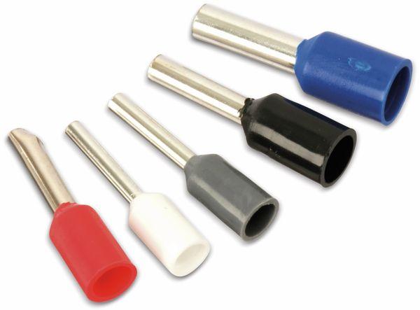 Sortiment Aderendhülsen 0,5 mm² - 2,5 mm², 400 Stück, in Kunststoffbox - Produktbild 4