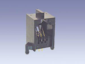 Western-Modularbuchse RJ11/4