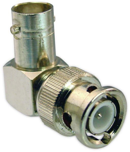 BNC-Winkeladapter 90°
