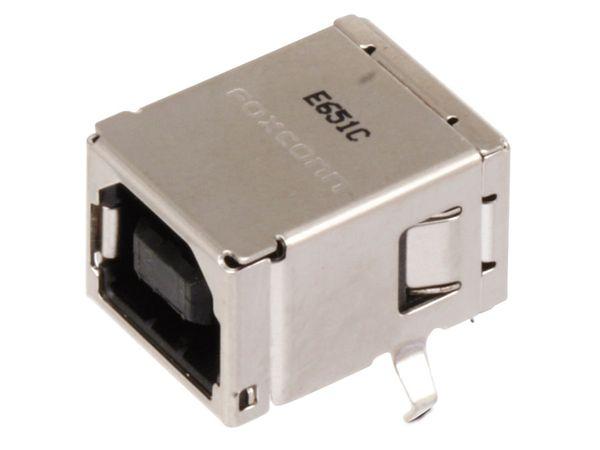 USB-B Einbaubuchse, 90° - Produktbild 1