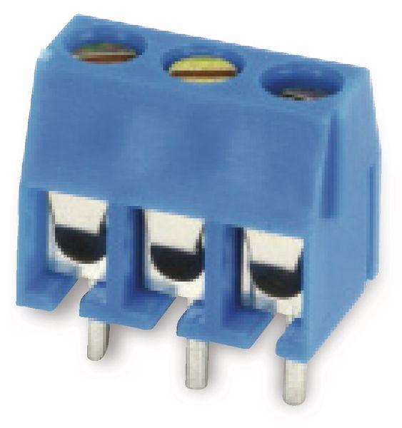 Leiterplatten-Anschlussklemme XY301V, 3-polig