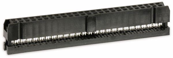 Pfostenbuchse für Flachbandleitung, RM 2,54, 50-polig - Produktbild 1