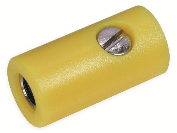 Zwergkupplungen, gelb