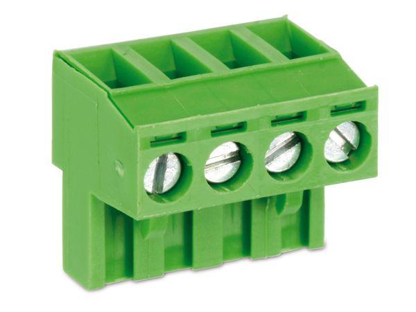 Anschlussklemme PTR AKZ950, 4-polig, grün - Produktbild 1