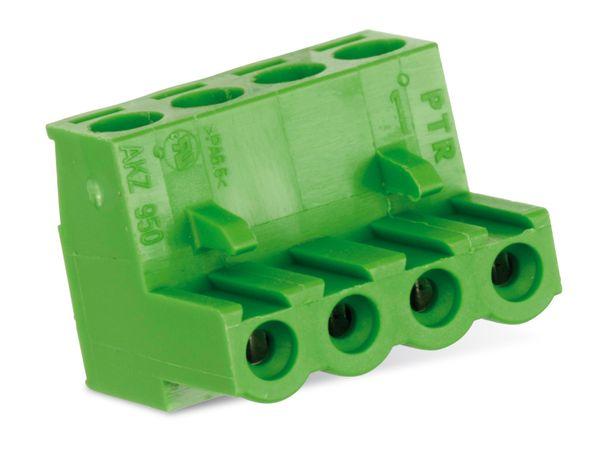 Anschlussklemme PTR AKZ950, 4-polig, grün - Produktbild 2
