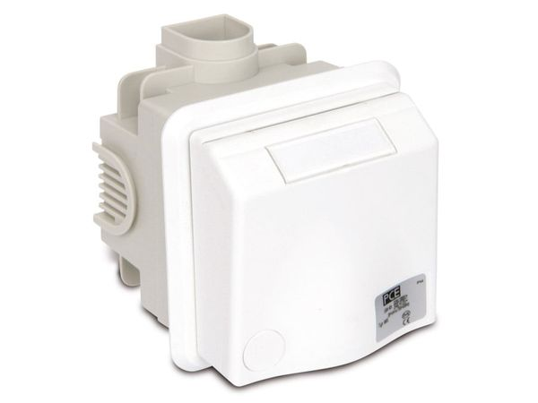 CEE-Unterputzsteckdose PCE, 16 A, 400 V, IP44 - Produktbild 2