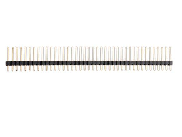 Stiftleiste, vergoldet, 1x 40-polig, 10 Stück