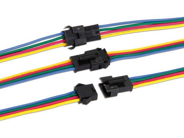 Steckverbinder-Set, 4-polig - Produktbild 2