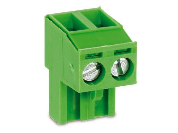 Anschlussklemme PTR AKZ950, 2-polig, grün - Produktbild 1