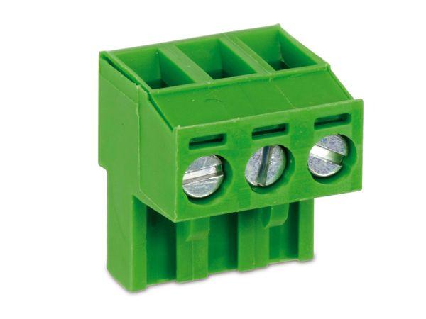 Anschlussklemme PTR AKZ950, 3-polig, grün - Produktbild 1