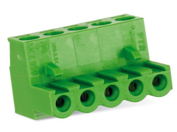 Anschlussklemme PTR AKZ950, 5-polig, grün - Produktbild 2
