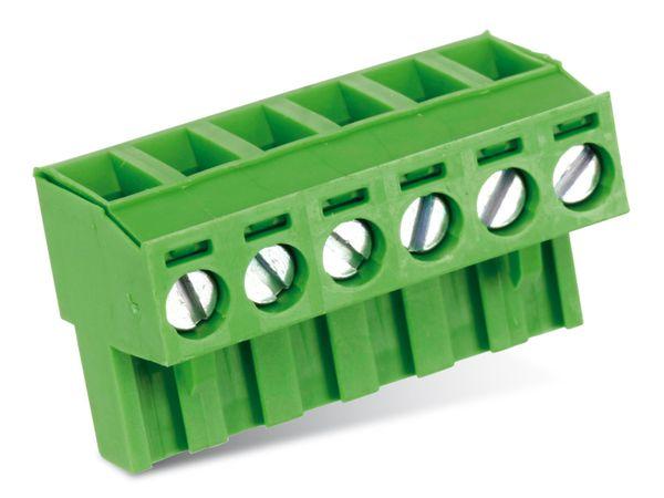 Anschlussklemme PTR AKZ950, 6-polig, grün - Produktbild 1