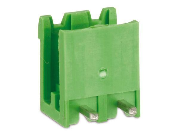 Stiftleiste PTR STLZ950, 2-polig, 90°, grün - Produktbild 1