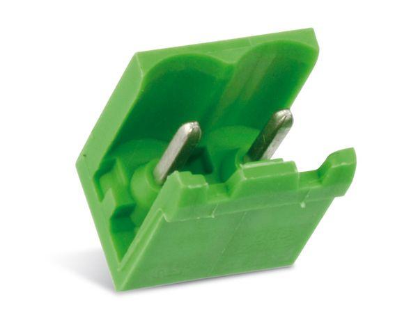 Stiftleiste PTR STLZ950, 2-polig, stehend, grün - Produktbild 1