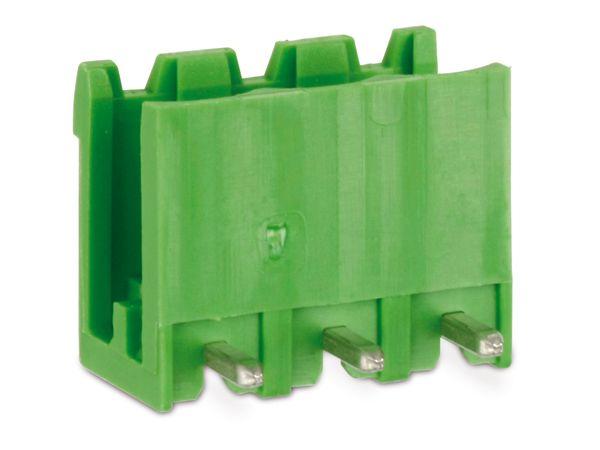 Stiftleiste PTR STLZ950, 3-polig, 90°, grün - Produktbild 1