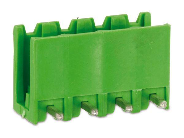 Stiftleiste PTR STLZ950, 4-polig, 90°, grün - Produktbild 1