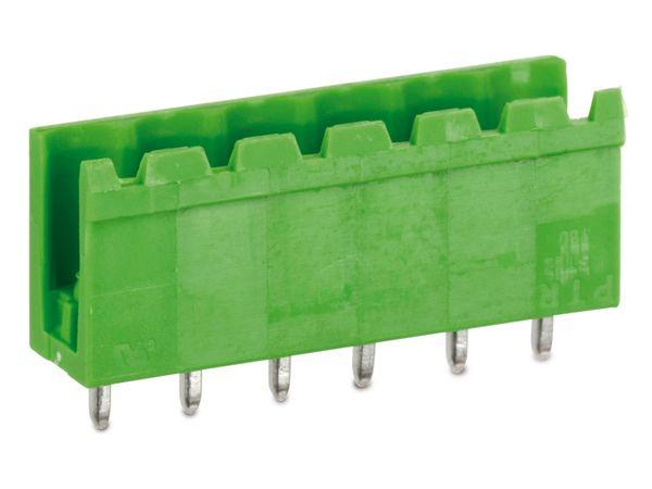 Stiftleiste PTR STLZ950, 6-polig, stehend, grün - Produktbild 1