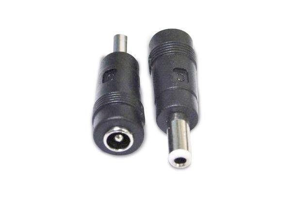 Hohlstecker-Adapter, 5,5/2,1 zu 5,5/2,5