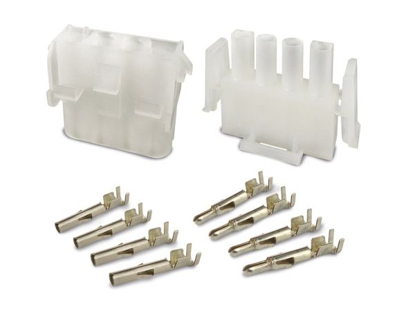 Steckverbinder-Set SUPU Serie B, 1x4-polig, 19 A/600 V~ - Produktbild 2