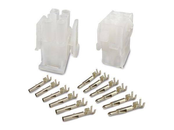 Steckverbinder-Set SUPU Serie B, 3x2-polig, 19 A/600 V~ - Produktbild 2