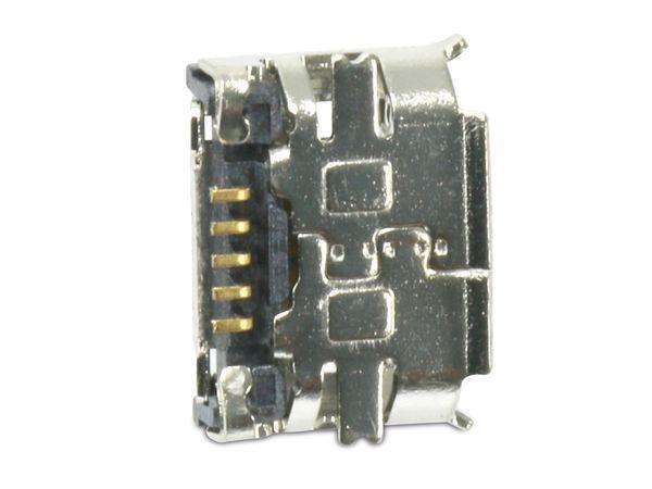 Micro-USB Buchse FCI, Typ B, Version 2.0, SMD, 90° Winkel - Produktbild 3