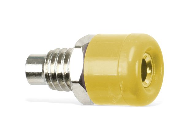 Zwerg-Einbaubuchsen DAYTOOLS TB-2.5KY/5, gelb, 5 Stück - Produktbild 3
