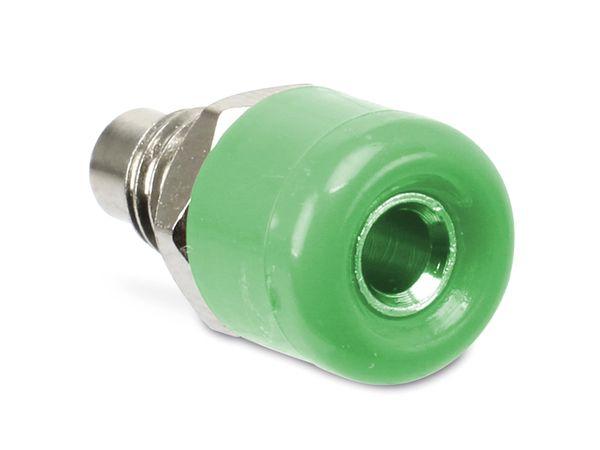Zwerg-Einbaubuchsen DAYTOOLS TB-2.5KG/5, grün, 5 Stück - Produktbild 1