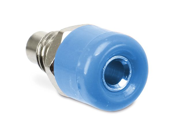 Zwerg-Einbaubuchsen DAYTOOLS TB-2.5KB/5, blau, 5 Stück - Produktbild 1