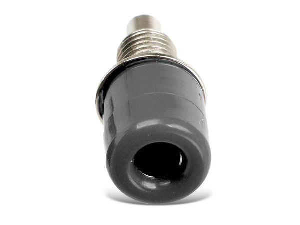 Einbaubuchsen DAYTOOLS TB-4KS/5, schwarz, 5 Stück - Produktbild 1