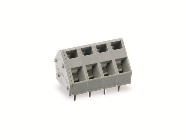 Leiterplattenklemme SUPU 256704, 4-polig, RM 5, 16 A/250 V