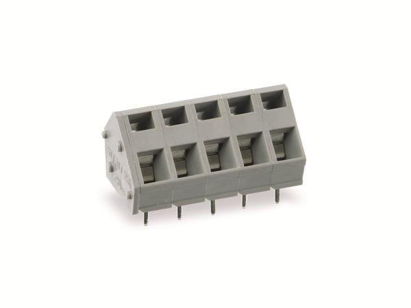 Leiterplattenklemme SUPU 256705, 5-polig, RM 5, 16 A/250 V