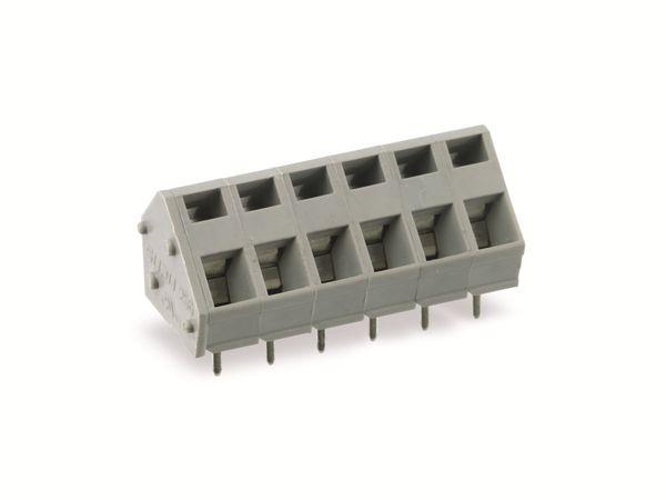Leiterplattenklemme SUPU 256706, 6-polig, RM 5, 16 A/250 V