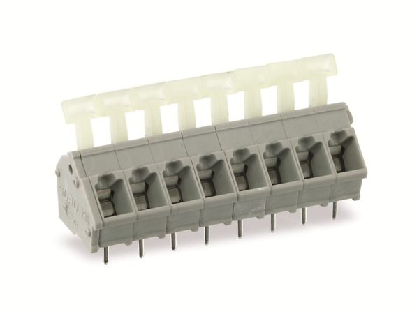 Leiterplattenklemme SUPU 256308, 8-polig, RM 5, 16 A/250 V