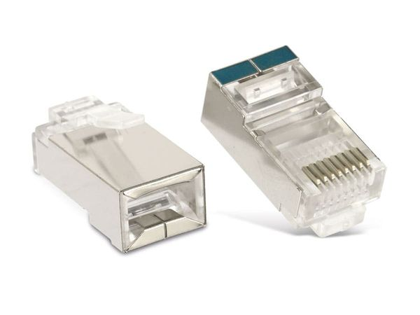 CAT.5e RJ45-Stecker RED4POWER R4-N114, 10 Stück