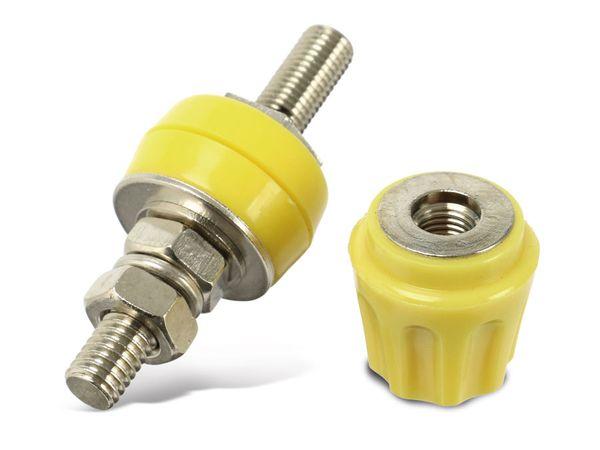 Polklemme, M6, 50 A, 4 mm, gelb - Produktbild 1