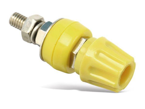 Polklemme, M6, 50 A, 4 mm, gelb - Produktbild 2