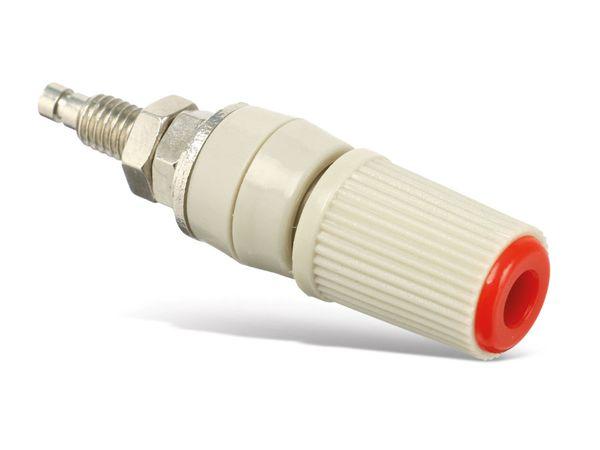 Polklemme, M5, 24 A, 4 mm, rot - Produktbild 1
