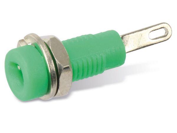 Zwerg-Einbaubuchse 2 mm, grün